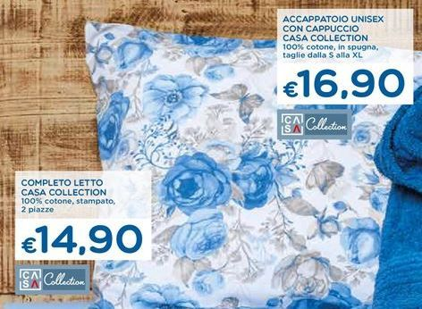 Offerta per Completo letto Casa Collection a 14,9€