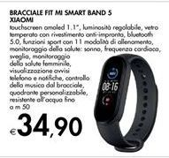 Offerta per Bracciale Fit mi smart band 5 Xiaomi a 34,9€