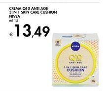 Offerta per Crema q10 anti age 3 in 1 skin care cushion Nivea a 13,49€
