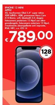 Offerta per IPhone 12 mini Apple a 789€