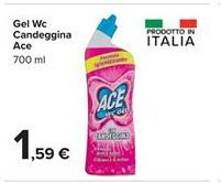 Offerta per Gel Wc Candeggina Ace a 1,59€