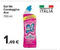 Offerta per Gel Wc Candeggina Ace a 1,49€