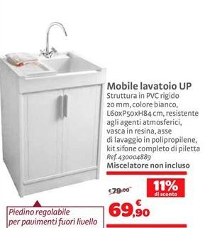 Offerta per Mobile lavatoio UP a 69,9€
