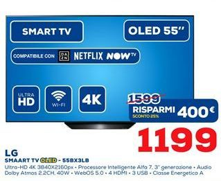 Offerta per Smart Tv Oled LG a 1199€