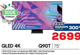 Offerta per Smart tv led Samsung a 2699€