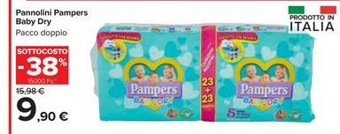 Offerta per Pannolini Pampers baby dry a 9,9€