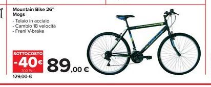 Offerta per Mountain bike 26'' Mogs a 89€