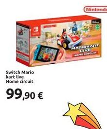Offerta per Switch Mario Kart live Home Circuit a 99,9€