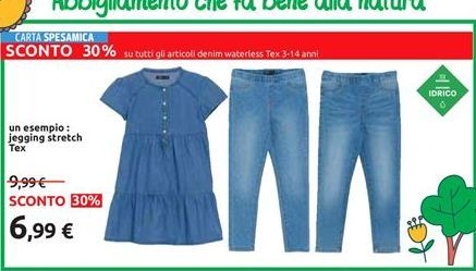 Offerta per Jegging stretch tex a 6,99€