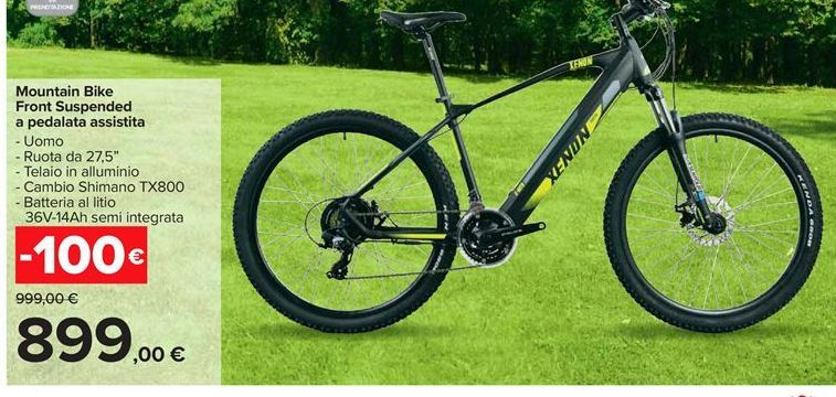 Offerta per Mountain bike Front Suspended a pedalata assistita a 899€