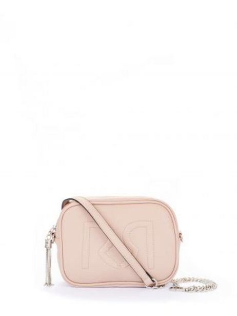 Offerta per Borsa Tracolla Logo in Similpelle color Dusty Pink a 39€