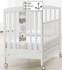 Offerta per Lettino baby dream bianco a 219€