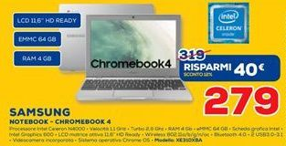 Offerta per Notebook- chromebook 4 a 279€