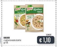 Offerta per Knorr Risotteria Varie Ricette a 1,1€