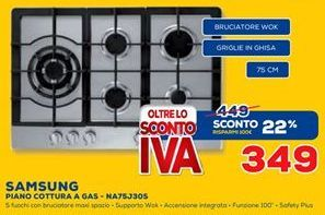 Offerta per Piano cottura a gas a 349€