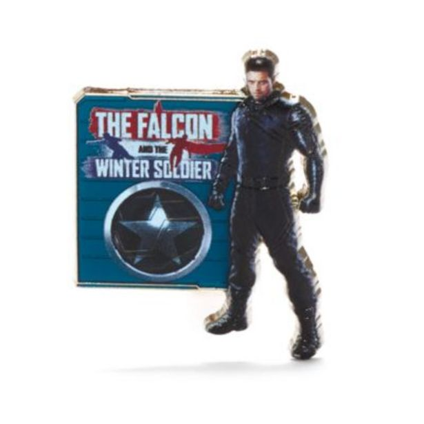 Offerta per Pin Winter Soldier The Falcon and The Winter Soldier Disney Store a 14€