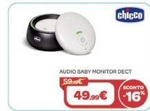 Offerta per AUDIO BABY MONITOR DECT CHICCO  a 49,99€