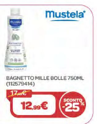 Offerta per Bagnetto Mille Bolle a 12,99€