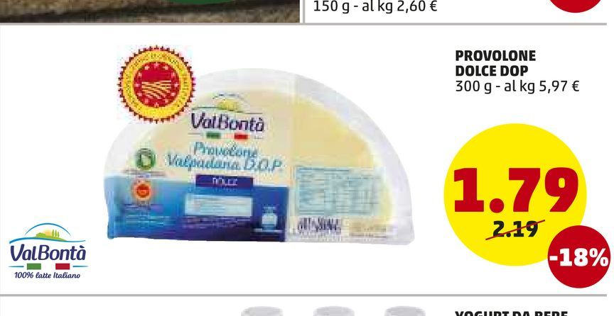 Offerta per Provolone dolce dop 300 g  a 1,79€
